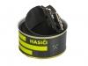 561 - opasek Hasiči 3D černý + neon - plech