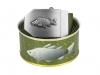 636 - Textilní opasek Rybáři -  Khaki - Dárkové balení 1