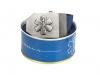 689 textile belt 3D star of life - blue Büchse