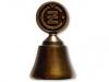 Kovový odlévaný zvonek ČZ první