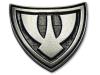 Kovový odznak odlévaný barevný - starozinek