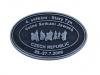 Kovový odznak odlévaný setkání Jawařů - starozinek