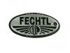 Kovový odznak odlévaný starozinek Fechtl - starozinek