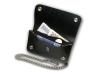 Kožená peněženka s ražbou tříkapsová