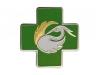 odznak smaltovaný benu - nikl + zlato