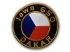 výroba nášivek - nášivka Jawa 650 Dakar