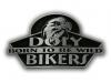 Odlévaná zinková přezka Doly Bikers