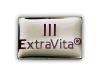 Kovový odznak odlévaný ExtraVita – nikl