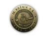 Kovový odznak odlévaný – staromosaz