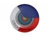 odznak s potiskem strelecky klub