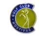 Smaltovaný odznak Golf club