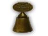 Odlévaný zvoneček - staromosaz