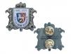 3D odznak HASIČI s potiskem pro výročí SDH