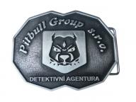 Odlévaná přezka detektivní agentury