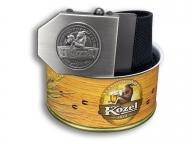 Textilní opasek Kozel - černý + Dárkové balení_1