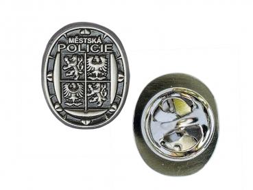 3D odznak Městská policie - staronikl