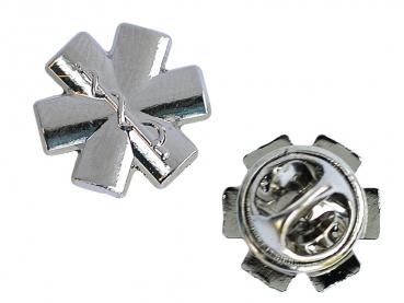 Odznak záchranáři 3D hvězda života stříbrný