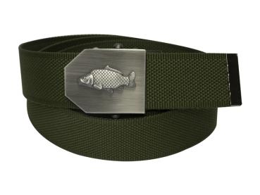 569 - Textilní opasek Rybáři- Khaki