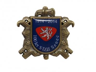 odznak Hasiči s potiskem SDH Senec