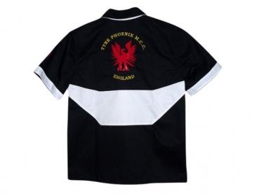 košile s výšivkou phoenix zadni autor fotografie kožene opasky cz