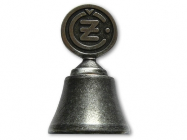 Kovový odlévaný zvonek ČZ třetí