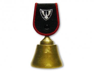 Kovový odlévaný zvonek Logo