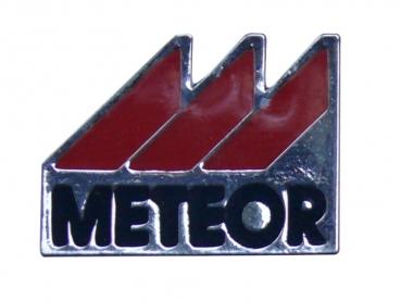 Kovový odznak odlévaný Meteor - nikl