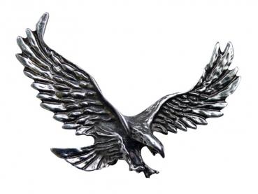 Kovový odznak odlévaný Orel první - nikl