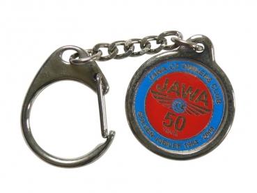 Výroba kovových přívěsků - Jawa 50let