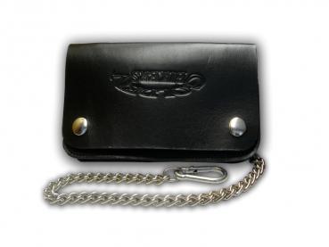 Kožená peněženka s ražbou Golden Bikers