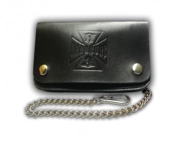 Kožená peněženka s ražbou Hardcore 83