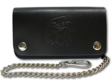Kožená peněženka s ražbou loga Orel