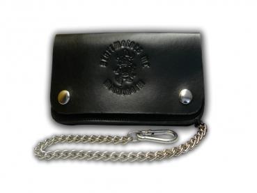 Kožená peněženka s ražbou Startmotors MC