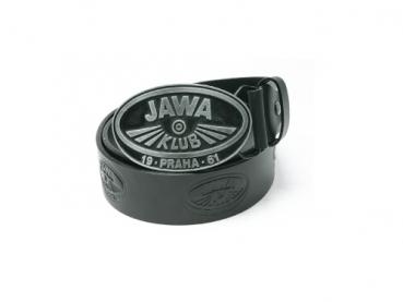 Kožený opasek s ražbou Jawa