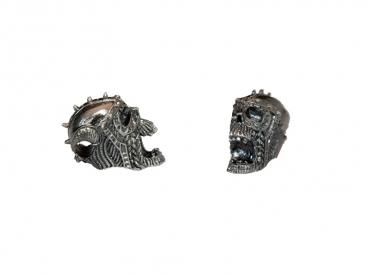 Lebka 3D staronikl