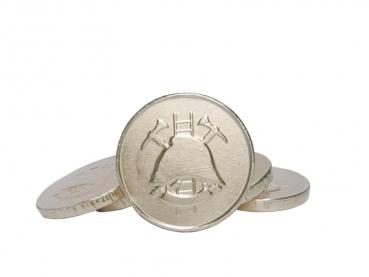 čokoládové mince 1