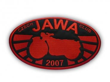 výroba nášivek - JAWA 2007
