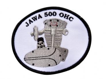 výroba nášivek - nášivka-Jawa 500 OHC