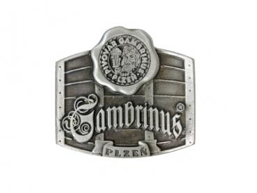 Odlévaná přezka Gambrinus
