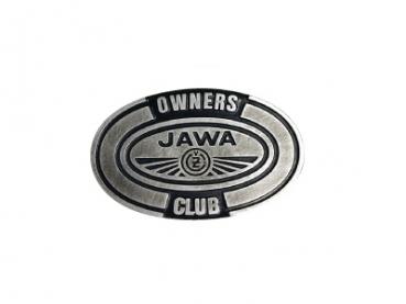 Odlévaná přezka Jawa Owners