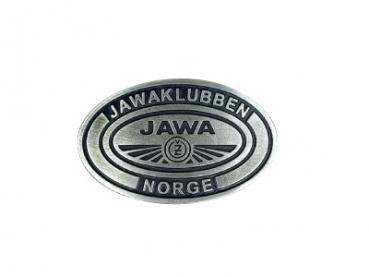 Odlévaná přezka Jawaklubben