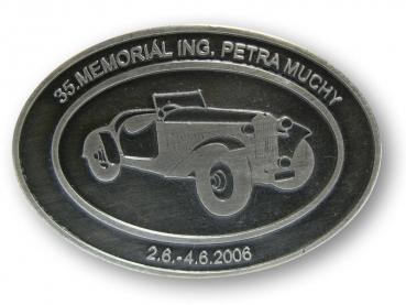 Odlévaná přezka Memoriál Petra Muchy