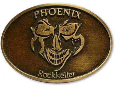 Odlévaná přezka staroměď Phoenix