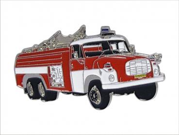 kovový odznak barvený Tatra 148 HASIČI