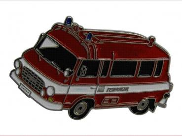 kovový odznak barvený Barkas Feuerwehr