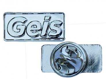 Odznak Geis - lesklý nikl