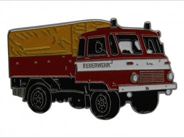 kovový odznak barvený Robur 1 Feuerwehr