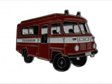kovový odznak barvený Robur 2 Feuerwehr