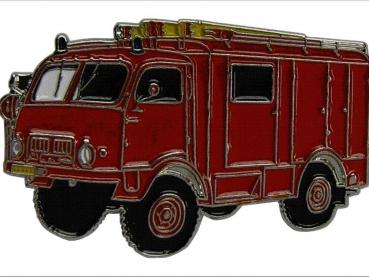 kovový odznak barvený Tatra T805 HASIČI