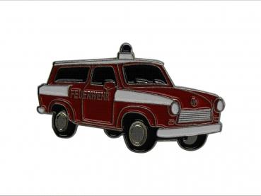 kovový odznak barvený Trabant Feuerwehr